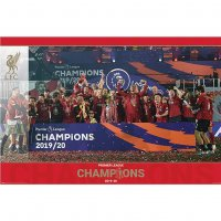 Плакат Premier League Champions Poster Trophy ФК Ливерпуль
